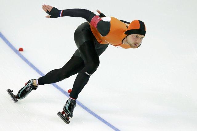 Le Néerlandais Michel Mulder a remporté la médaille... (Photo Phil Noble, Reuters)
