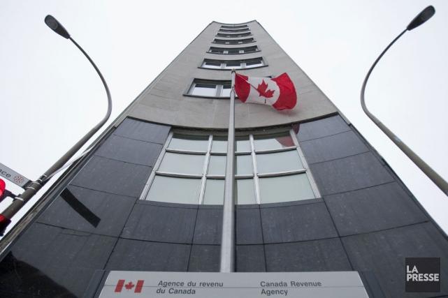 Le bureau de l'Agence du revenu du Canada... (PHOTO IVANOH DEMERS, ARCHIVES LA PRESSE)