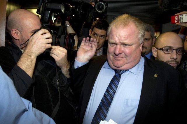 Le maire de Toronto, Rob Ford... (La Presse Canadienne)