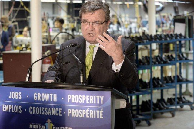 Le ministre des Finances, Jim Flaherty, déposera son... (PHOTO AARON HARRIS, REUTERS)
