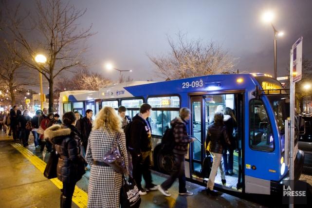 La Société de transport de Montréal a un manque à gagner de 20 millions pour... (Photo Edouard Plante-Fréchette, archives la presse)