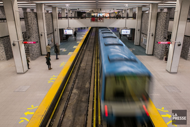 La ligne verte a connu une interruption de service de 45 minutes, entre les... (Photo archives La Presse)