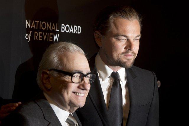 Martin Scorsese etLeonardo DiCaprio le 7 janvier dernier.... (Photo: Reuters)