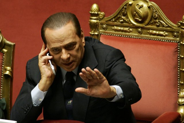 Silvio Berlusconi... (Photo: AP)