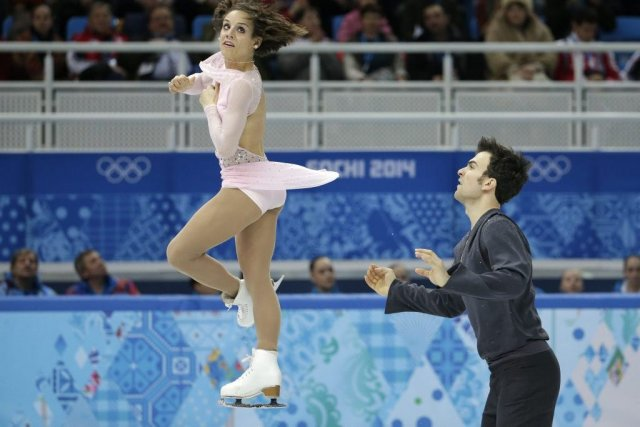 Meagan Duhamel et Eric Radford.... (Photo Bernat Armangue, Associated Press)