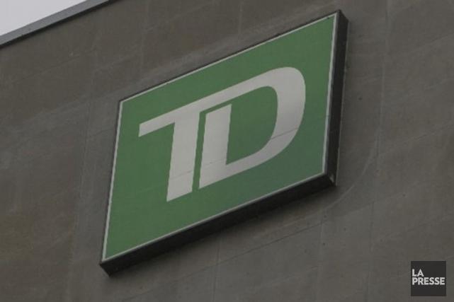 Le déménagement du bureau régional du Groupe Banque TD (T.TD)... (Photo archives La Presse)