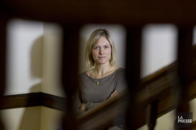 Delphine Collin-Vézina... (Photo Ivanoh Demers, archives La Presse)