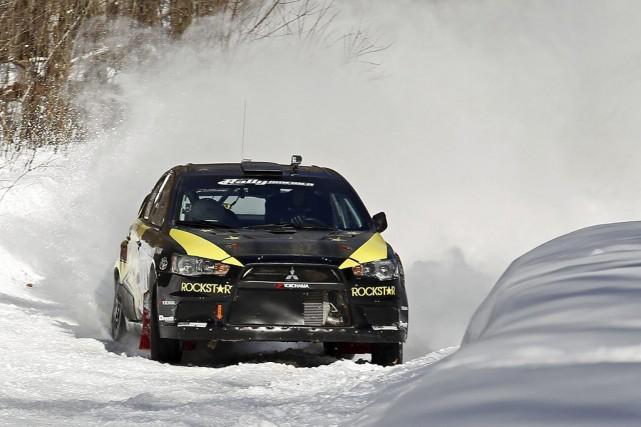 Le pilote de rallye québécois Antoine L'Estage.... (Photo fournie par Antoine L'Estage)