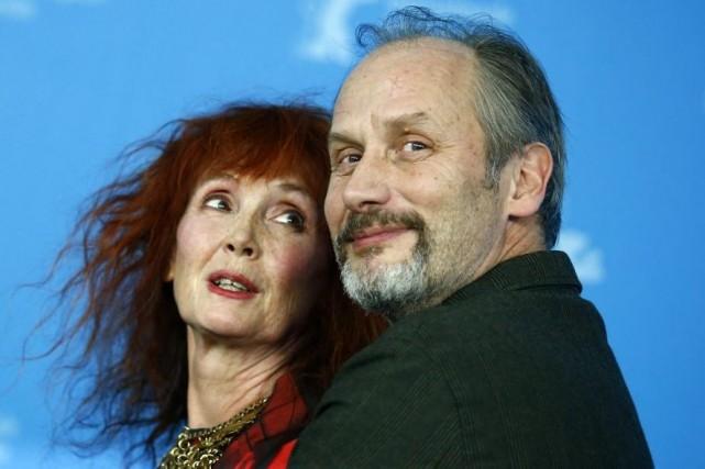 Sabine Azema et Hippolyte Girardot à la Berlinale... (Photo: archives Reuters)