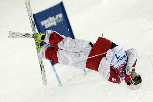 Marc-Antoine Gagnon a raté le podium par un... (Photo Franck Fife, AFP)
