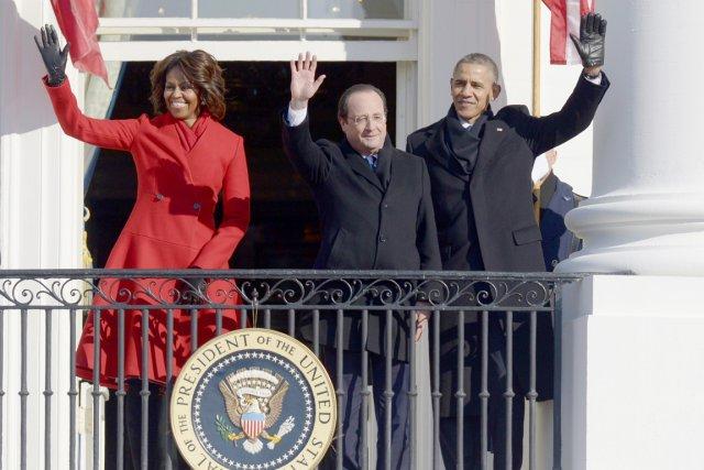 Le président Hollande est arrivé mardi matin à... (PHOTO SAUL LOEB, AFP)