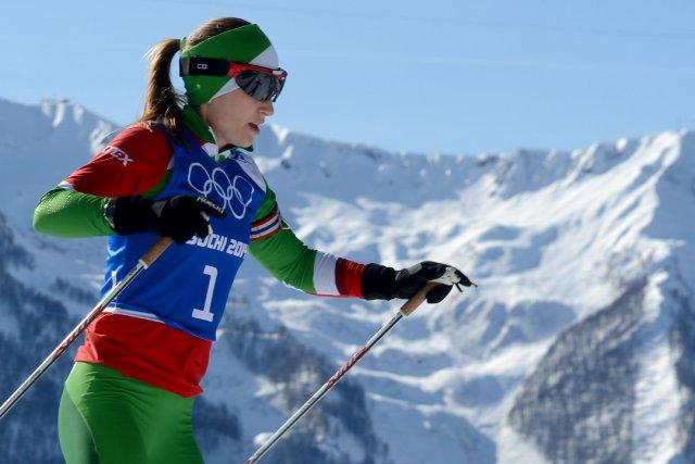 Darya Domracheva... (Photo KIRILL KUDRYAVTSEV, Agence France-Presse)