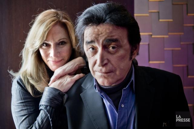 Nanette Workman et Dick Rivers se connaissent depuis... (Photo: Marco Campanozzi, La Presse)