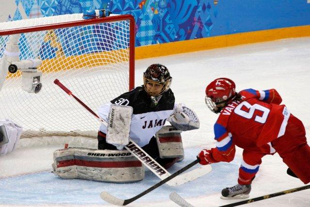 Alexandra Vafina a marqué en troisième période pour... (Photo Grigory Dukor, Reuters)
