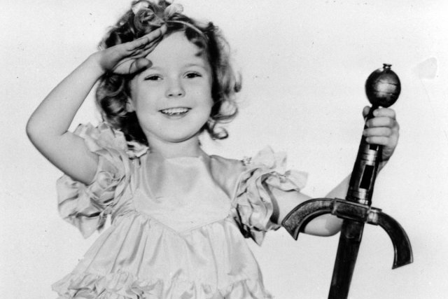 Shirley Temple dans une scène de Little Miss... (Photo: archives AP)