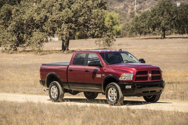 La camionnette RAM 2500 a été nommé le... (Photo fournie par Chrysler)