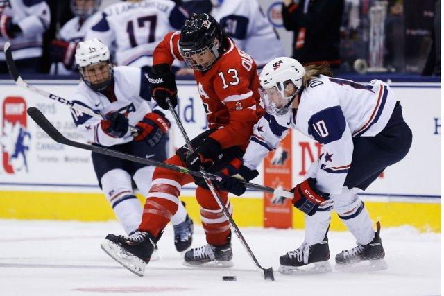 Les Canadiennes affronteront les Américaines mercredi: un classique... (Photo Mark Blinch, PC)