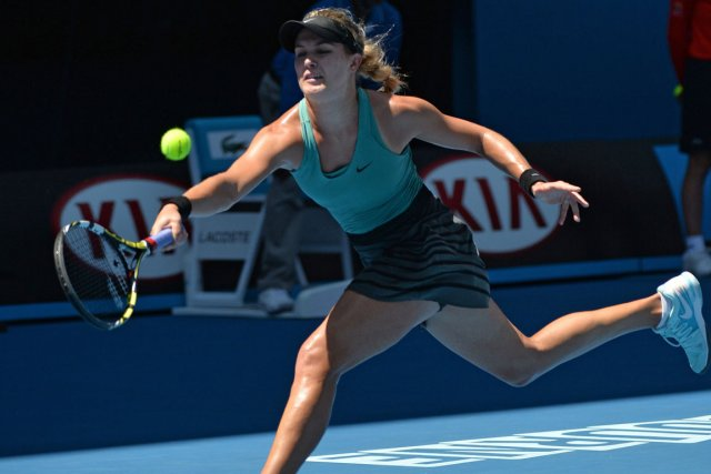 Eugenie Bouchard... (Photo Saeed Khan, archives AFP)