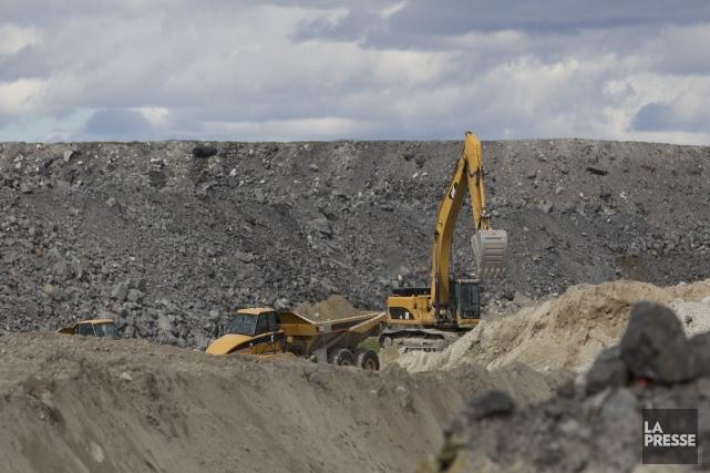 Le gouvernement fédéral a refusé d'accorder son aval à un projet de mine d'or... (Photo Hugo-Sébastien Aubert, Archives La Presse)