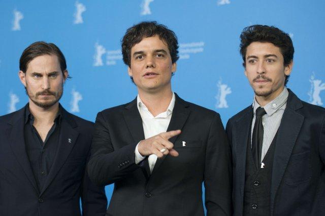 Les acteurs Clemens Schick, Wagner Moura et Jesuita... (Photo: AFP)
