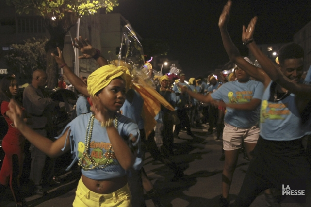 Le Kannaval de Guadeloupe se distingue non seulement... (Photo Erika Peter, La Presse)