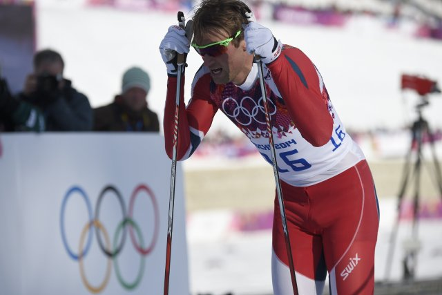 Petter Northug... (Photo Odd Andersen, Agence France-Presse)