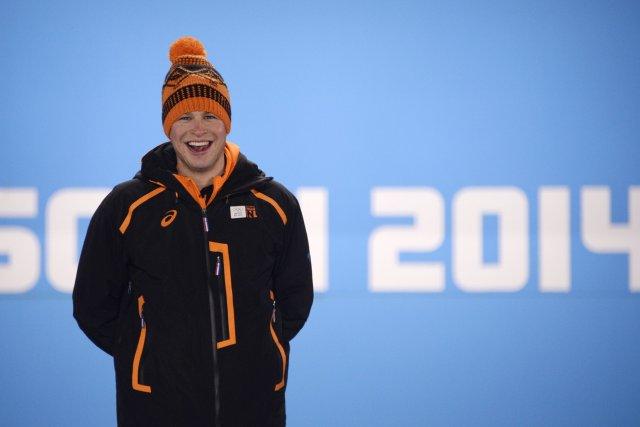 Le Néerlandais Sven Kramer.... (Photo Alexander Nemenov, Agence France-Presse)