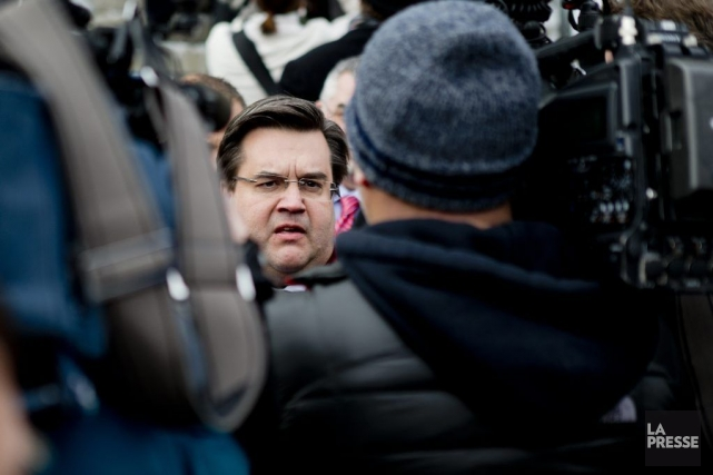 Denis Coderre... (PHOTO MARCO CAMPANOZZI, ARCHIVES LA PRESSE)