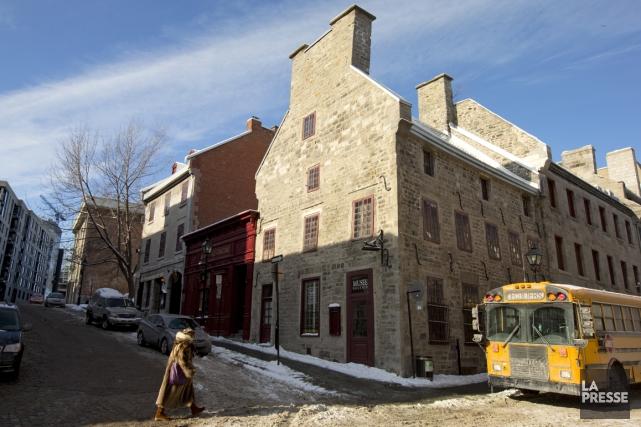 Devanture de la Maison Pierre du Calvet, rue... (Photo Alain Roberge, La Presse)