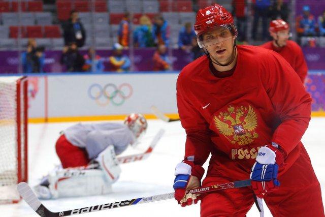 Alexander Ovechkin a qualifié la défaite de la... (Photo Laszlo Balogh, Reuters)