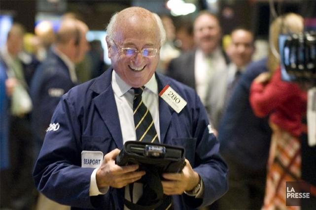 La rotation des secteurs est bien nette en Bourse, au terme du premier... (PHOTO AP)