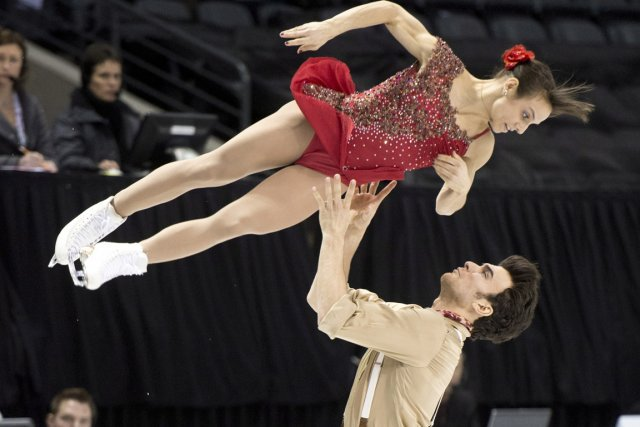 Meagan Duhamel et Eric Radford... (Photo: La Presse Canadienne)
