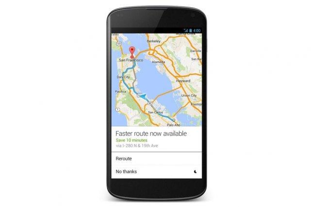 C'est probablement l'un des secrets les mieux gardés de Google Maps: en entrant... (Photo Google)