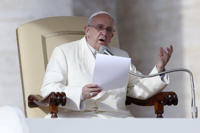 Le pape François... (Photo TONY GENTILE, Reuters)
