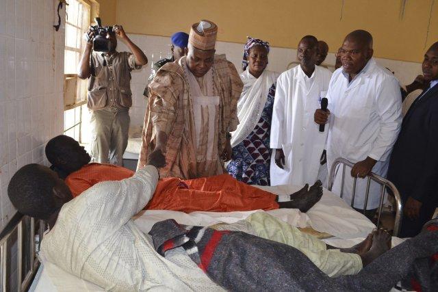 Le gouverneur de l'État de Borno, Kashim Shettima,... (Photo REUTERS)