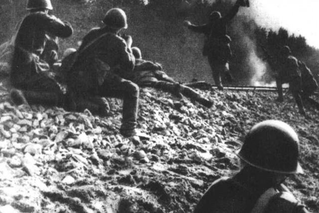 Photo d'archives de la Seconde Guerre mondiale.... (Photo Archives AFP)