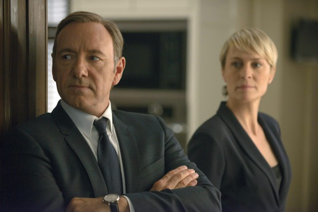 House of Cards met en vedette Kevin Spacey... (Photo: archives AP)