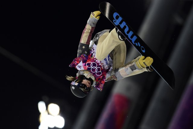 Kaitlyn Farrington... (Photo Javier Soriano, AFP)