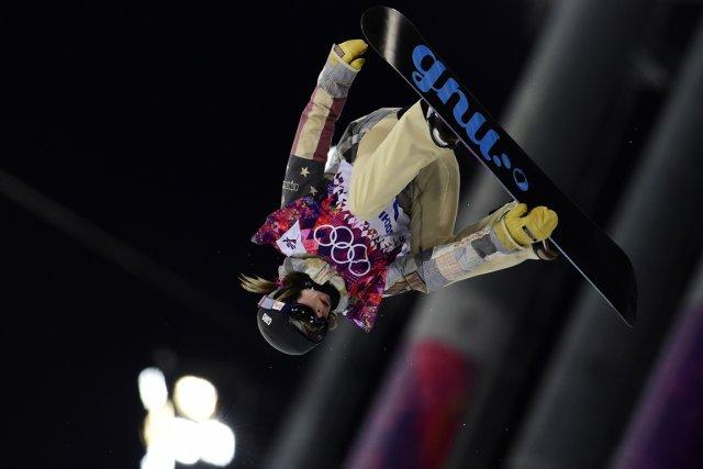 Kaitlyn Farrington... (Photo Javier Soriano, AFP)