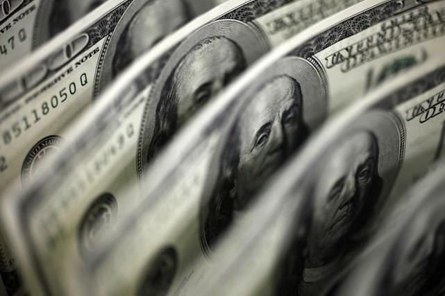 Le budget des États-Unis a inscrit en avril un excédent en retrait par rapport... (PHOTO ARCHIVES REUTERS)