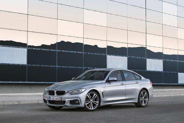 La BMW Série 4 Gran Coupé... (Photo fournie par BMW)