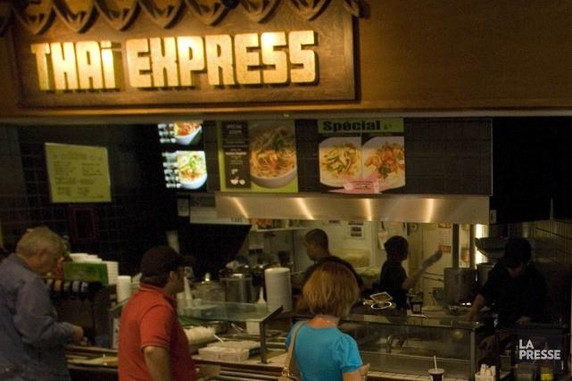 Thaï Express, une des bannières de Groupe d'alimentation... (Photo Ivanoh Demers, Archives La Presse)