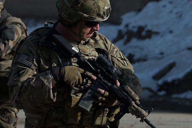 Les attaques commises par les forces afghanes s'étaient... (Photo SHAH MARAI, AFP)