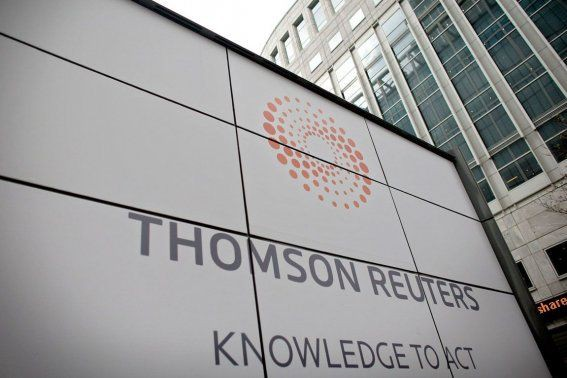 Les résultats financiers rendus publics par Thomson Reuters... (Photo Shuan Curry, Archives AFP)