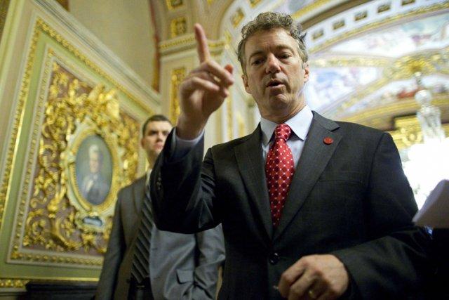 D'obédience libertaire, le sénateurRand Paul est l'un des... (Photo: Reuters)