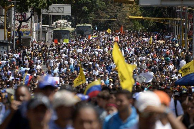 Le mouvement de protestation étudiant, lancé depuis une... (Photo: AFP)