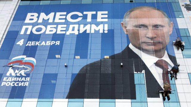 Vladimir Poutine n'est pas un dictateur, malgré les... (Photo Eduard Korniyenko, Archives Reuters)