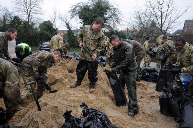 Près de 2000 soldats ont été déployés pour... (Photo: AFP)