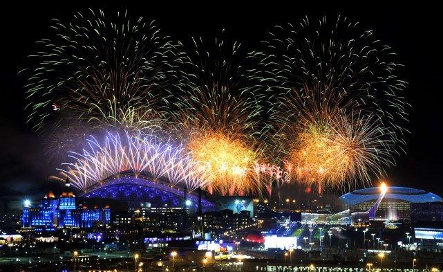 Les Jeux olympiques de Sotchi, considérés comme minés... (Photo ALEXANDER NEMENOV, agence France-Presse)
