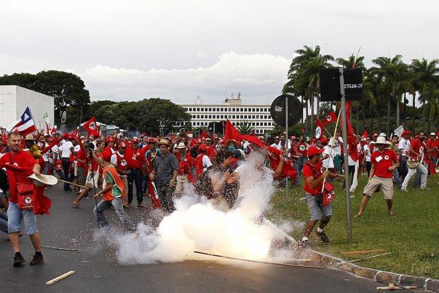 Les incidents de mercredi interviennent dans un contexte... (Photo: AFP)